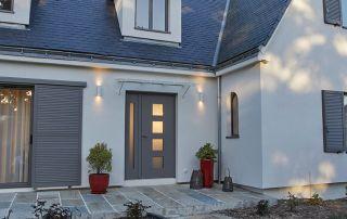 Porte d'entrée en aluminium à Niort 79