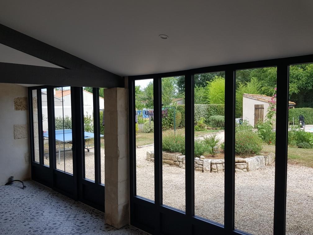Matériaux pour baie vitrée - menuisier à Niort, Echiré